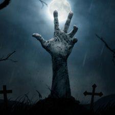 Neklidní mrtví: Hrůzné události na estonském hřbitově!