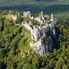 Tajemná fotografie z hradu Gýmeš