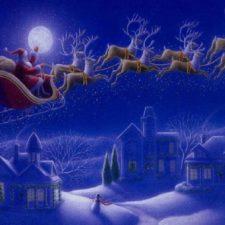 Muchomůrka, létající sobi, Santa Claus a staročeský kuba. Tajemné cesty vánoční symboliky