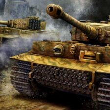 Tanky Wehrmachtu jezdily na dřevo. Přinejmenším některé