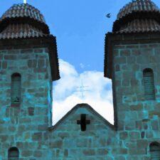 Kostel, který si našel své místo sám