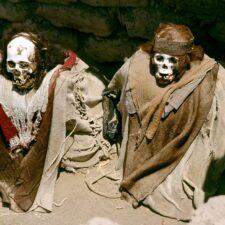 Tajemství jihoamerických bílých mumií