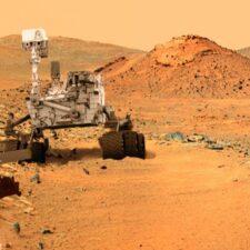Skákající kameny na Marsu